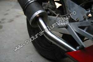 adaptare toba motocicleta