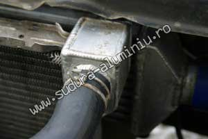 intercooler aluminiu admisie de aer